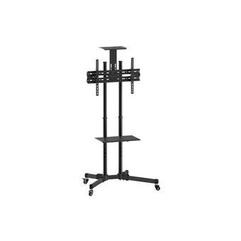"""Suporte de chão de ecrãs planos Equip 650603 70"""" Portable flat panel floor stand Preto"""