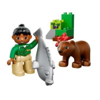 LEGO Duplo Cidade - A refeição do urso pardo - 10576