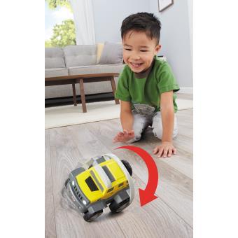 Carro Little Tikes Tumbling SUV Preto e Amarelo