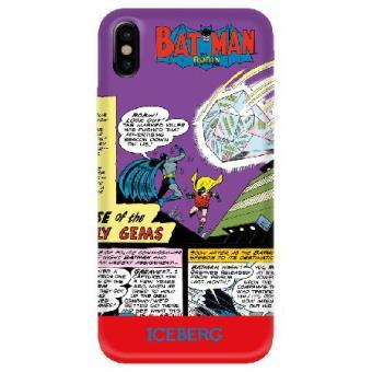 Capa Telemóvel Iceberg DC Comics Soft Case para iPhone X/Xs Batman