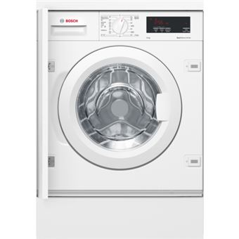 Máquina de Lavar Roupa Bosch Serie 6 WIW28300ES Interno Carregamento frontal 8kg 1400RPM A+++ Branco
