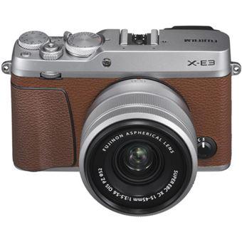 Fujifilm X-E3 Castanho + Fujifilm 15-45mm F3.5-5.6 XC OIS PZ