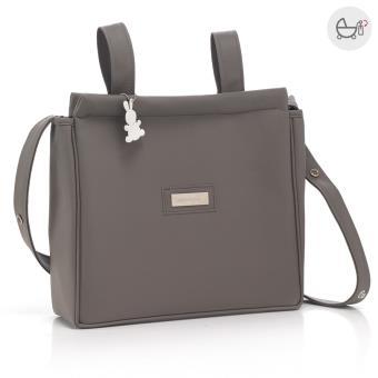 Bolsa de maternidade Cambrass elegance vison 13x40x33 cm