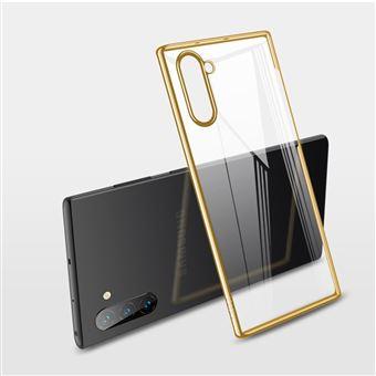 Capa Magunivers de TPU Transparente Rígido Ouro para Samsung Galaxy Note 10/Note 10 5G