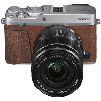 Fujifilm X-E3 Castanho + Fujifilm XF 18-55mm f/2.8-4 R LM OIS