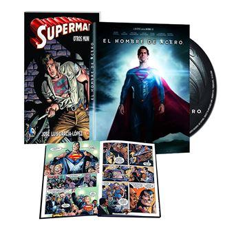 Man of Steel (Superman) (Comic Book) / El Hombre de Acero (DVD)