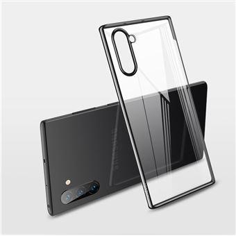 Capa Magunivers de TPU Transparente Rígido Preto para Samsung Galaxy Note 10/Note 10 5G