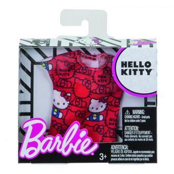 Acessório de Brincar Roupa Mattel Hello Kitty Barbie