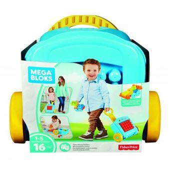 Trolley de Construção Mattel Mega Bloks 16 Peças