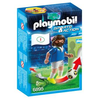 Boneco de montar Playmobil Sports & Action 6895  Multi cor 4008789068958