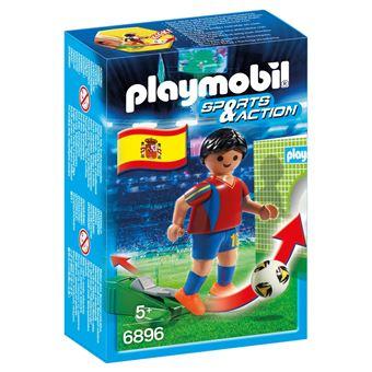 Boneco de montar Playmobil Sports & Action 6896  Multi cor 4008789068965
