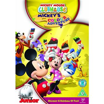 Disney Mickey Mouse Clubhouse : Mickey's Colour Adventure DVD 2D Inglês