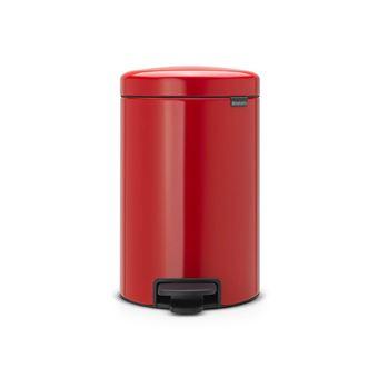 Caixote do Lixo Brabantia 112003 12l Redondo Vermelho