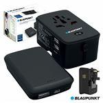 Powerbank Blaupunkt 4000Ma com Adaptador Viagem Universal