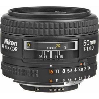 Objetiva Focal Fixa Nikon AF NIKKOR 50mm f/1.4D