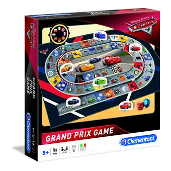 Grand Prix Game Clementoni Cars 16094