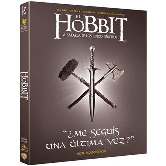 The Hobbit: The Battle of the Five Armies / El Hobbit 3: La Batalla De Los Cinco Ejercitos (Blu-ray)