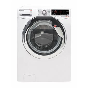 Máquina de Lavar Roupa Hoover DXOA 610AHC3/1-S Isolado Carregamento frontal 10kg 1600RPM A+++ Branco