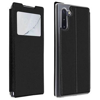 Capa de Proteção Avizar para Galaxy Note 10 Folio   Janela   Suporte Vídeo - Preto