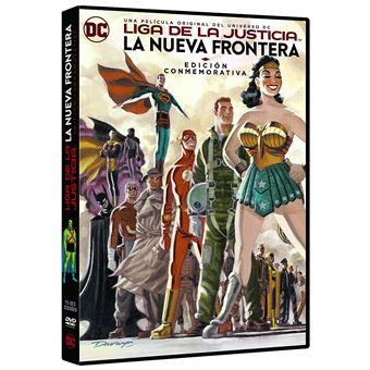 Justice League: The New Frontier / Liga De La Justicia: La Nueva Frontera. Edición Conmemorativa (DVD)