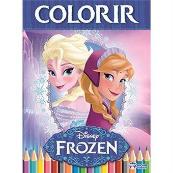 Colorir - Volume 2. Coleção Disney Frozen