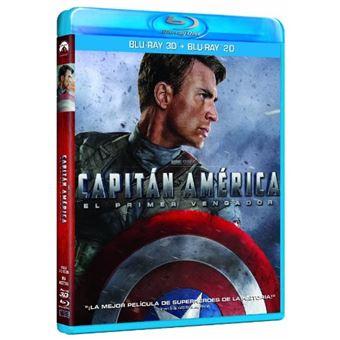 Captain America: The First Avenger (3D + 2D) / Capitán América: El Primer Vengador (2Blu-ray)