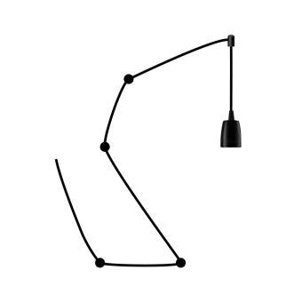 Segula 50586 iluminação de chão Preto E27 60 W