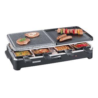 Grelhador/Barbecue Severin Raclette RG 2341  - Preto