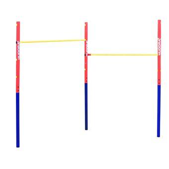 Barra de Elevações HUDORA 64002 Azul, Vermelho, Amarelo