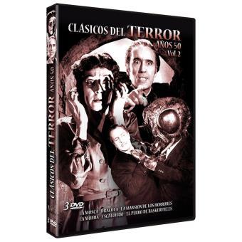 Clásicos del terror de los Años 50 - Volumen 2 / Classic Horror movies The Years 50 vol 2 (3DVD)