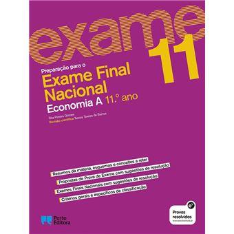 Preparação para o Exame Final Nacional - Economia A - 11.º Ano