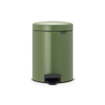 Caixote do Lixo Brabantia 112447 5l Redondo Verde