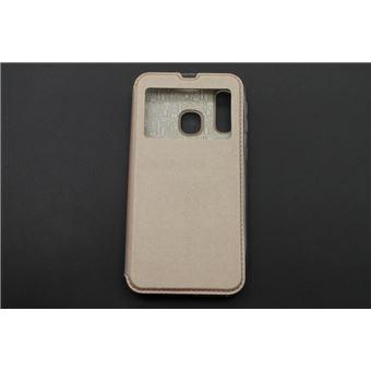 Capa skyhe Para Samsung Galaxy A40 Flip Cover Gandy Dourado