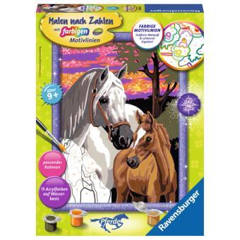 Folha e livro para colorir Ravensburger 28568