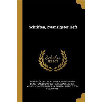 schriften, Zwanzigster Heft Paperback -
