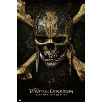 Poster Close Up Pirates Of The Caribbean 5 Pos Dead Men Tell No Tales 91,5 x 61 Cm