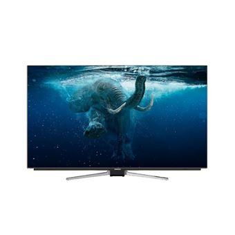 """TV Grundig OLED 4K UHD 55VLO9895BP 55"""" Alumínio"""