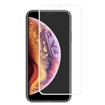 Protetor de Ecrã de Vidro Temperado Magunivers 0,26 milímetros 2.5D 9H branco para Apple iPhone XR 6.1 inch