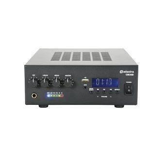 Amplificador Adastra 30W Linha 100V Serie Cm Com Bluetooth