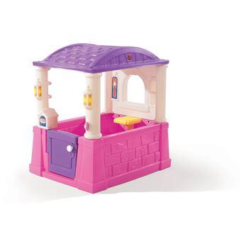 Step2 744800 casa de bonecas Casa de brincar no solo Rosa e Roxo e Branco