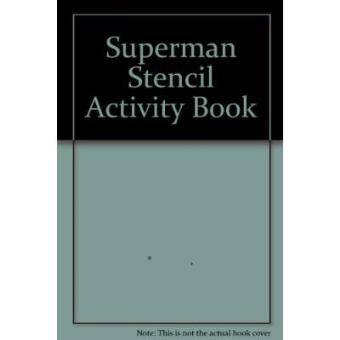 Superman Stencil Activity Book (Stencil Book)