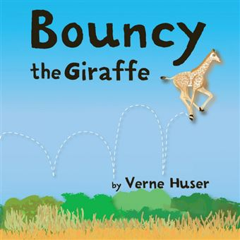bouncy The Giraffe Paperback -