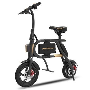 Bicicleta Elétrica Dobrável INMOTION P1F | BMS | 350W | USB | 6000mAh | 38km - Dourado