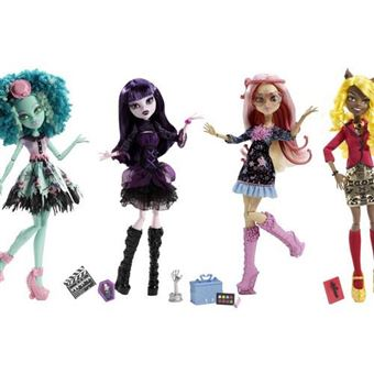 Sortido Bonecas Mattel Monster High Hauntlywood