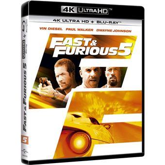 Fast Five (4K Ultra HD) / A Todo Gas 5 (2Blu-ray)
