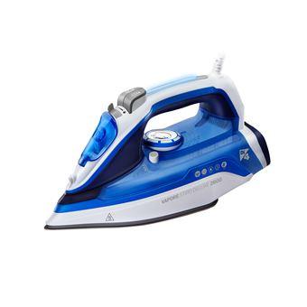 Ferro de engomar Di4 Vapore stiro 2600 Ferro a seco e a vapor Base de cerâmica Azul, Branco 2600 W