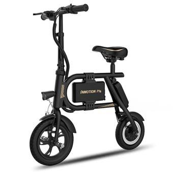 Bicicleta Elétrica Dobrável INMOTION P1S   BMS   350W   USB   6000mAh   20-25km - Amarelo