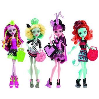 Sortido Bonecas Mattel Monster High Intercâmbio de Monstros