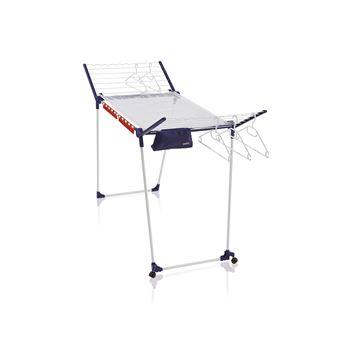 LEIFHEIT 81530 prateleira de secar roupa Prateleira de pé Azul, Branco