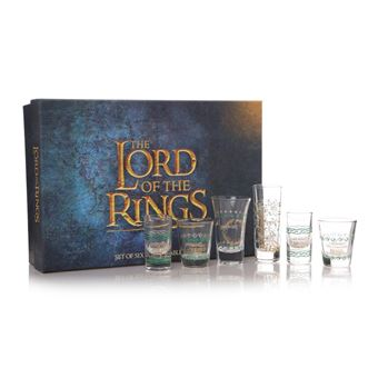 Conjunto de Copos The Lord of the Rings